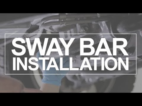 Eliminate Vehicle Sway With An Anti-Sway Bar