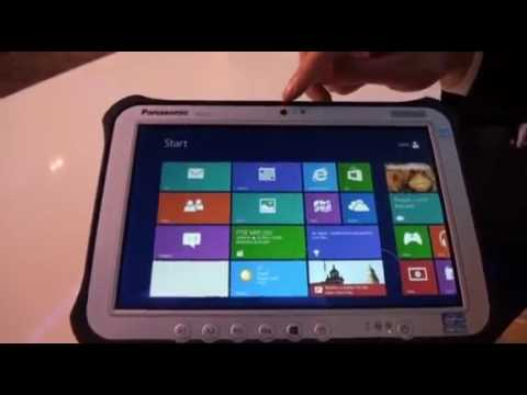 Panasonic unveils the Toughpad FZ-G1, a 10in rugged Windows 8 tablet