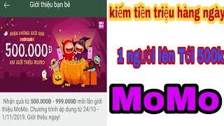 MoMo // Kiếm Tiền Lên Tới Chục Triệu - Nhờ Việc Chia sẻ link Cho Người khác // NTN Văn Ngọc