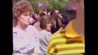 Клип к приезду Б  Н  Ельцина  Барнаул архив радик