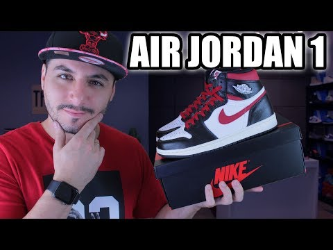 "Air Jordan 1 ""Gym Red"" Review + Unboxing"