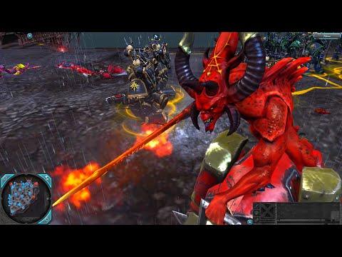 Epic Battle: Chaos Space Marines vs Eldar - Destroyer Mod, Warhammer 40k: Dawn Of War 2: Retribution |