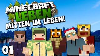 AUFTAKT EINES NEUEN ABENTEUERS! - Stadtführung mit Unge ✪ Minecraft LEBEN | Paluten