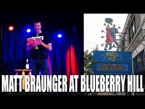 Matt Braunger at Blueberry Hill in St. Louis