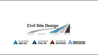 Civil Site Design - Urban Reconstruction Showreel