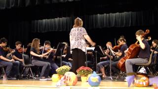 """Momentum"" performed by the Lopez Middle School Honors Orchestra"