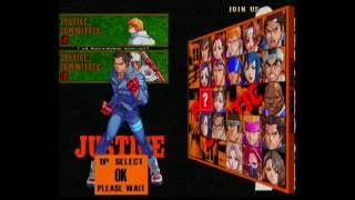 Project Justice   Dreamcast gameplay