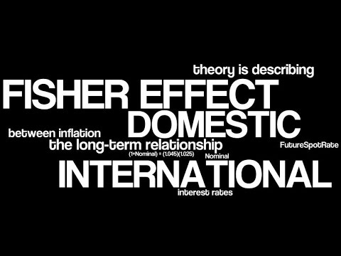 THE FISHER EFFECT THEORY EXPLAINED - DEFINITION  !!!!!