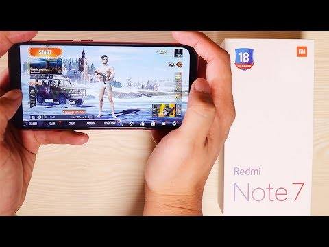 Redmi Note 7 Unboxing - Camera, Pubg, Battery