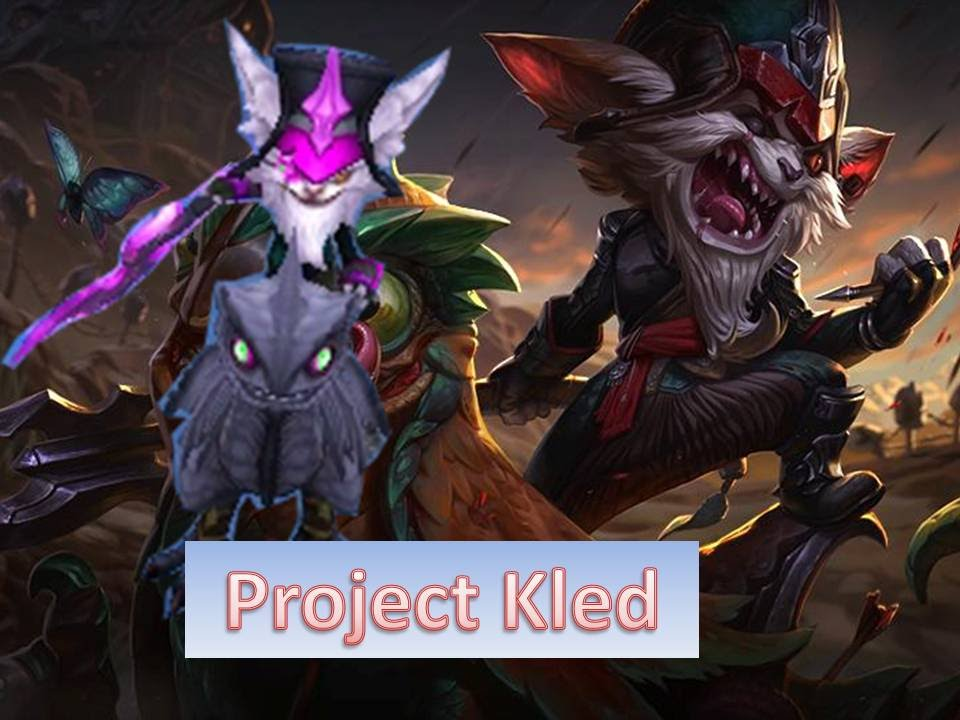 League Of Legends Project Kled Custom Skin Youtube