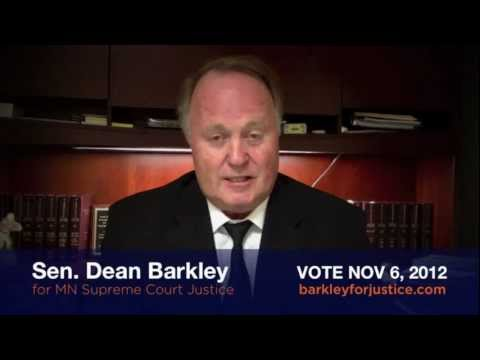 Dean Barkley: An Independent for MN Supreme Court