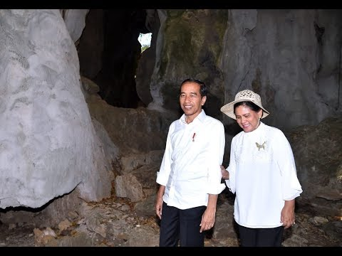 presiden-jokowi-tinjau-kawasan-batu-cermin-labuan-bajo,-manggarai-barat,-11-juli-2019