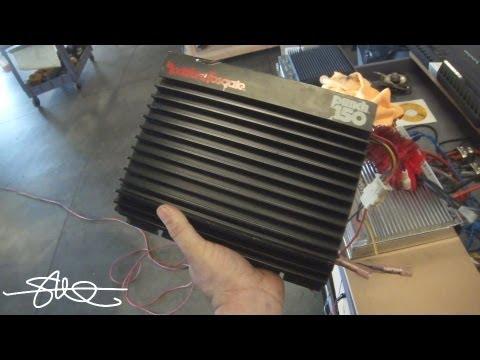 100 Amp Wiring Diagram Boneyard Amps Classic Rockford Fosgate Punch 150 Back