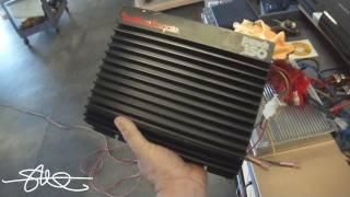 BONEYARD AMPS Classic Rockford Fosgate Punch 150 BACK FROM