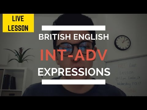 Language Analysis LIVE Class - British New Year's 2017 Resolutions Episode