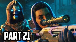 DESTINY 2 Gameplay Walkthrough Part 21 - LARCENY (PS4 PRO 60FPS)