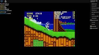 A 2d roblox game | Roblox classic sonic simulator
