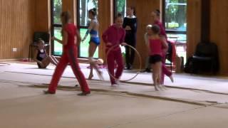 Короткометражный фильм про художественную гимнастику.