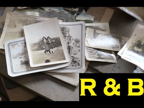 Abandoned House time capsule revisit, FAMILY PHOTOS found!