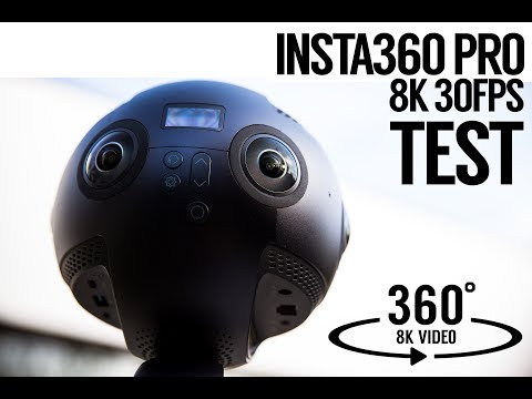 Insta 360 Pro Released - Example Videos, First Impressions