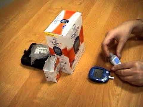 Видеоинструкция по использованию глюкометра Контур ТС от компании .