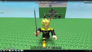 Testare l'ingranaggio della spada in fiamme di Voltron su Roblox