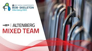 Altenberg | BMW IBSF World Championships 2020 - Mixed Skeleton | IBSF Official