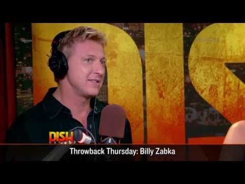 Celebrating Throwback Thursday with Billy Zabka