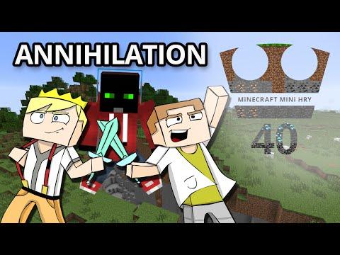 Jirka a GEJMR a Marwex Hraje - Minecraft Mini hry 40 - Annihilation