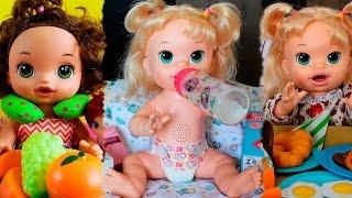 Rotina da Manhã, Tarde e Noite da Baby Alive Sara e Sophia - Muita alegria e diversão!!!!😀😍
