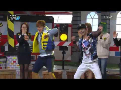 TURBO kim jong kook & kim jung nam dance in EC