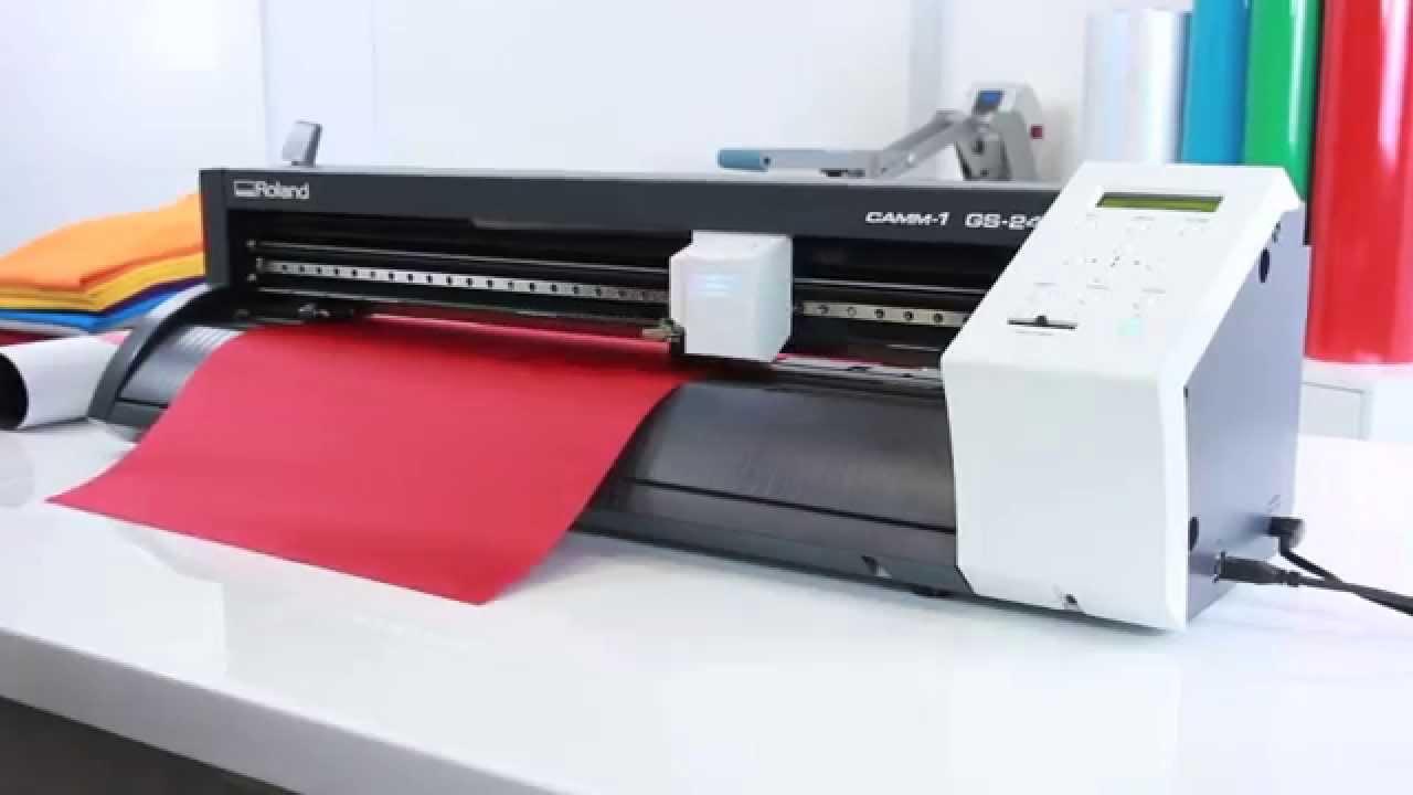 Roland gx-24 desktop vinyl cutter