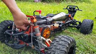 """ROVAN ESP Modified Zenoah """"G340RC""""  RACE PORTED BY RSGTUNED"""