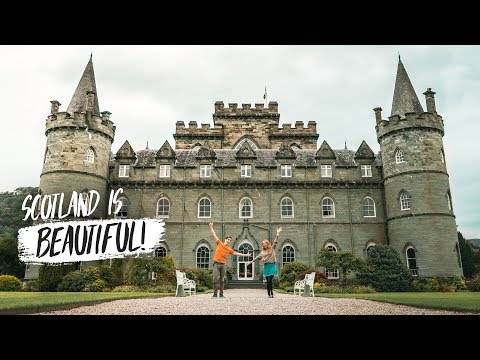 Exploring The SCOTTISH HIGHLANDS! - Fairytale Castle + Medieval Jail (Inveraray, Scotland)