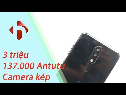 Nokia X5 đầu tiên tại Việt Nam - 3,6 triệu cho 137.000 Antutu, Camera kép | HungMobile