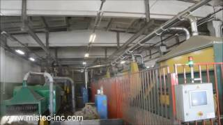 Linen Factory Dust Suppression by Misting
