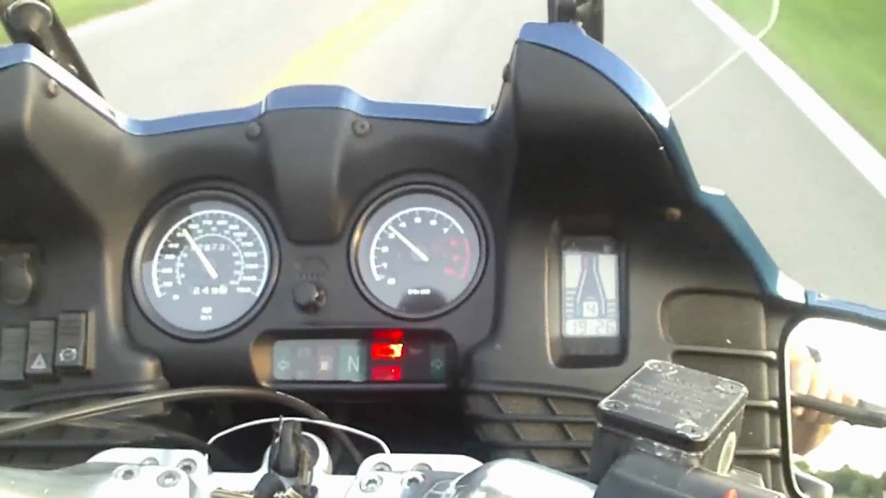 1996 Bmw R1100rt Motorcycle Test Ride Youtube