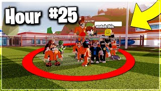 Last To Leave Circle Wins $10,000 ROBUX - Roblox Jailbreak Challenge!