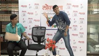 Siddharth Jadhav dancing on Gela Udat song