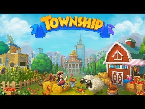 Township - Город и Ферма Знакомство с МОИМ ГОРОДОМ Детское видео Игровой мульт My Town