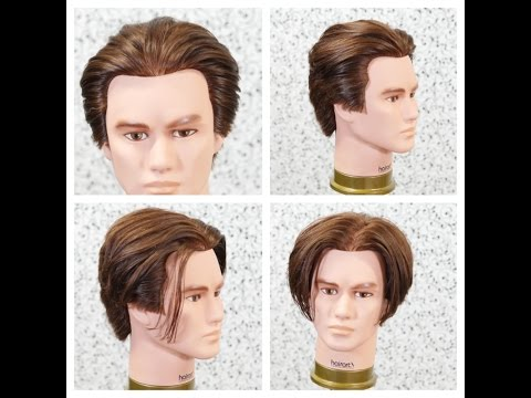 Haircut Tutorial - Basic Men's Layers - TheSalonGuy