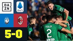 Ilicic zaubert bei Milan-Demontage: Atalanta Bergamo - AC Milan 5:0 | Serie A | DAZN Highlights