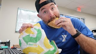 Lunch Break Sandwich Review: Subway's New Menu! Eat Fresh Refresh