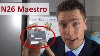 N26 Maestro Card ► Erstmalig in der Hand + Aktivieren