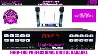 High-End Professional Bluetooth Digital Karaoke System   Karaoke Room   Home Karaoke Karaoke Player✅