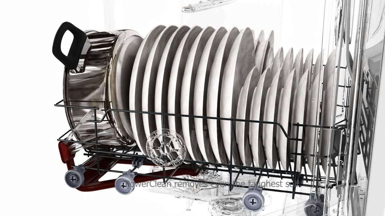 Whirlpool 6th sense power clean dishwasher eng youtube - Whirlpool power clean 6th sense notice ...