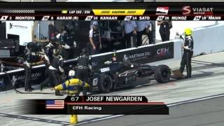 Indycar 2015. Round 11. Fontana. California. Race [Part 2/2]