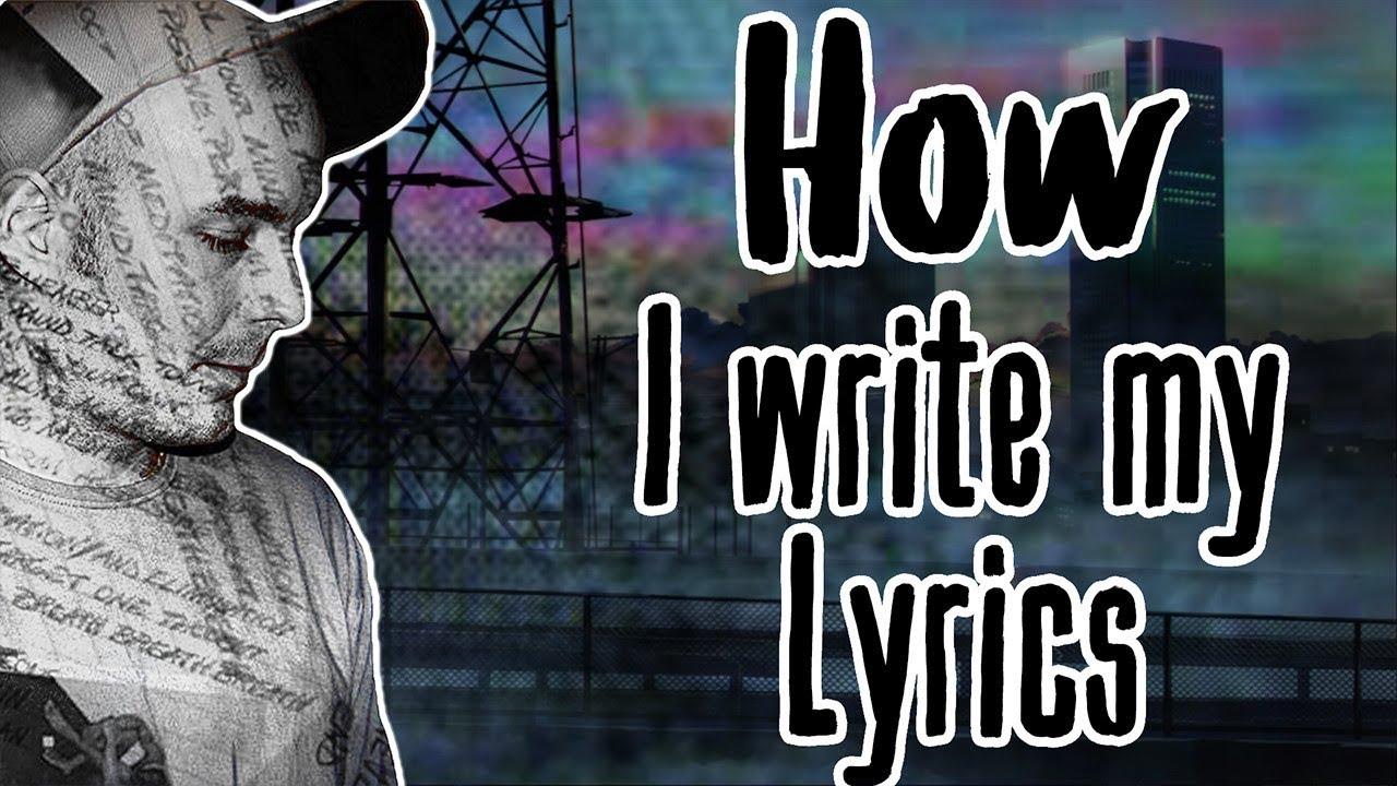 How I Write My Rap Lyrics [Writing Tutorial]