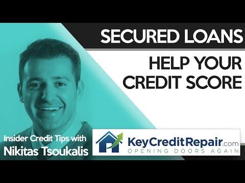 Key Credit Repair: Secured Loans Help Your Credit Score - YouTube