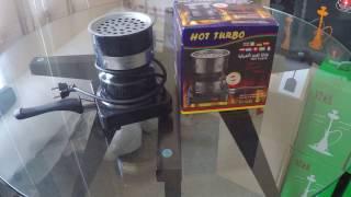 Обзор электрической плиты для розжига углей Hot Turbo